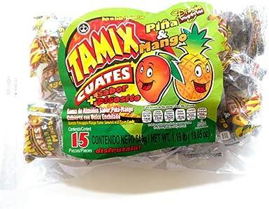 Tamix Cuates Mango - Bolsa de 15 piñas: Amazon.es: Alimentación y bebidas