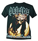 Deicide Medium Size New! T-Shirt (Scars Of The Crucifix) 1520