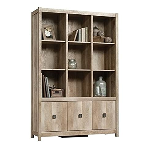 Bowery Hill 9 Cubby Bookcase in Lintel Oak - Hill Home Office Collection
