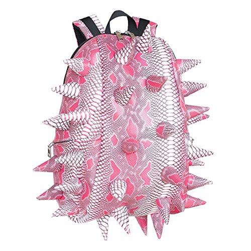 Madpax Spiketus Rex Pactor Pink Extinct Urban Spikes Full School Bag Backpack