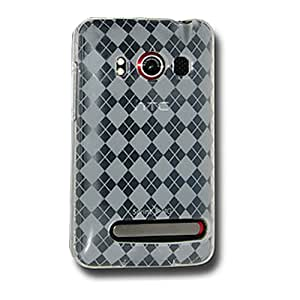 Amzer Luxe Argyle Skin Case for HTC EVO 4G - Clear