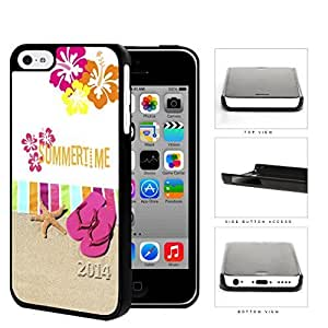 Summertime 2014 Beach Towel Hard Plastic Snap On Cell Phone Case Apple iPhone 5c by icecream design