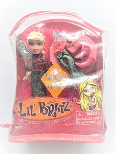 LIL' Bratz - Mix N Match Fashions CLOE Doll with Accessories in Vinyl Case