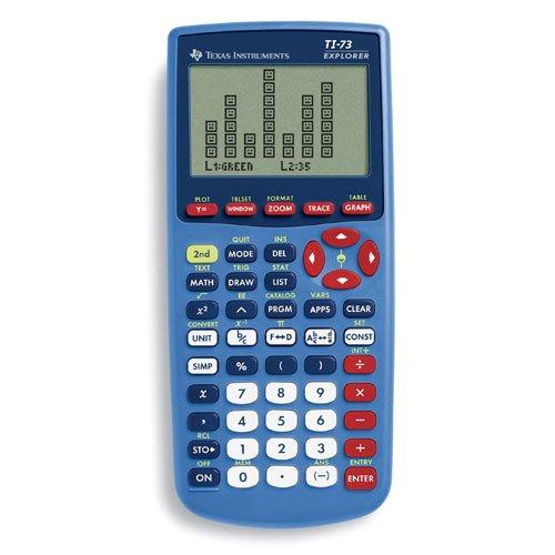 Texas Instruments 73/clm/1l1/c Ti 73 Explorer-blue