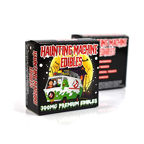 EMPTY Haunted Machine Edibles Display Boxes Packaging for Stores 3 x 3