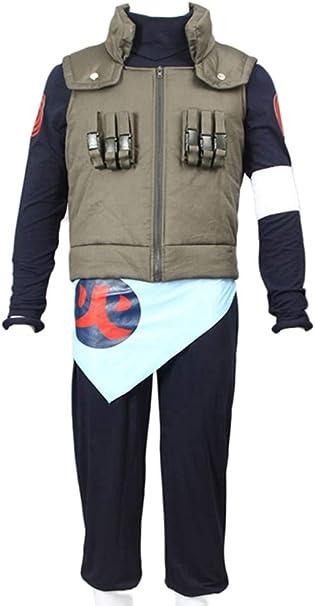Amazon.com: CHIUS Disfraz de cosplay para Ninja de hoja ...