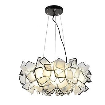 Moderne Kreative LED Kronleuchter, Stilvolle Schwarze Deckenleuchte Für  Wohnzimmer, Esszimmer, Schlafzimmer