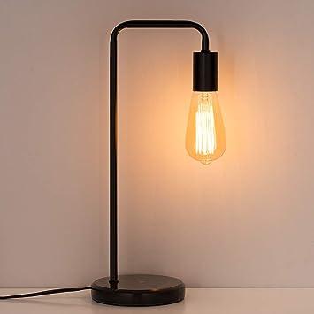 Amazon Com Haitral Industrial Desk Lamps Classic Modern Black