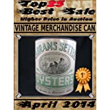 April 2014 - Vintage Merchandise Can - Top25 Best Sale - Higher Price in Auction