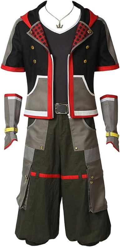 Kingdom Hearts 3 Sora Cosplay Costume adult costume  costume