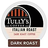 Tully's Coffee Italian Roast Keurig Single-Serve K-Cup Pods, Dark Roast Coffee, 72 Count