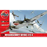 Airfix A03080 Messerschmitt Bf110C/D 1:72 Scale Military Aircraft Series 3 Model Kit