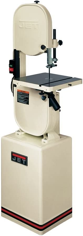 JET 708115K JWBS-14CS 14-Inch 1 Horsepower Woodworking Bandsaw with Graphite Guide Blocks, 115/230-Volt 1 Phase