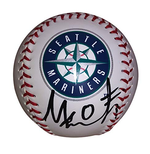 Seattle Mariners Mallex Smith Autographed Hand Signed Logo Baseball with Proof Photo of Signing and - Signed Seattle Mariners Hand