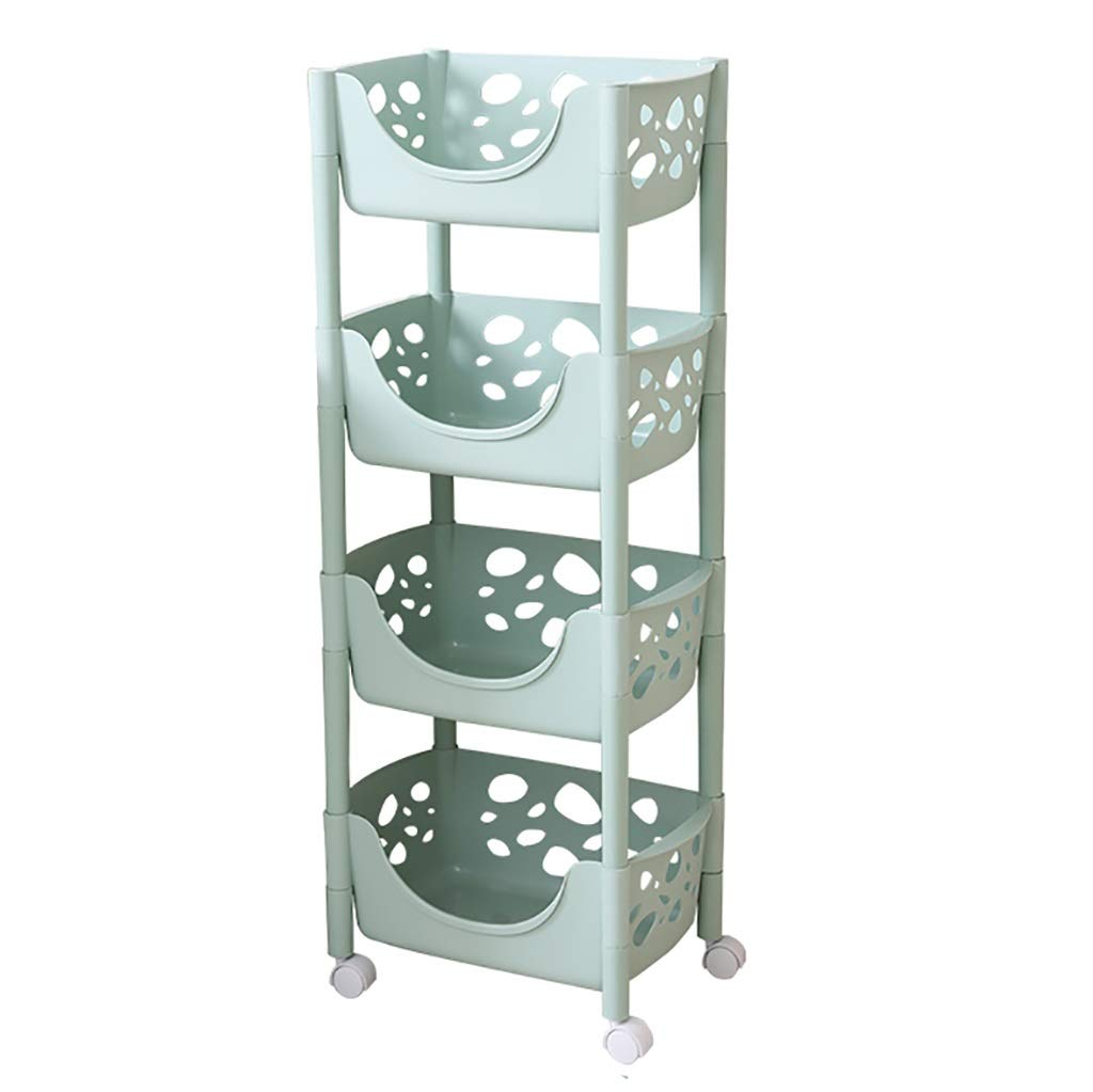 A Kitchen Shelves, Plastic Landing for Kitchen Bathroom Bathroom Bedroom Storage Rack (Size   A)