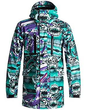 Mens Julien David X Quiksilver Dark And Stormy - Snowboard Jacket Snow Jacket