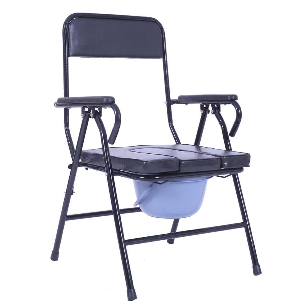 家庭の照明- 長椅子老人妊娠中の女性は、鋼管快適な折り畳み式54 * 56 * 89cm B07DK81ND6