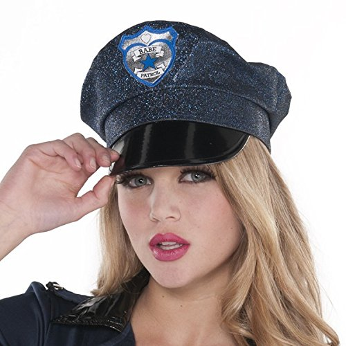 Modern Play Costumes (Fun-Filled Costume Party Sexy Police Hat, Blue, Fabric, 8