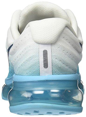 Nike Wmns Air Max 2017, Chaussures de Course Femme Turquoise (Polarized Blue/legion Blue)