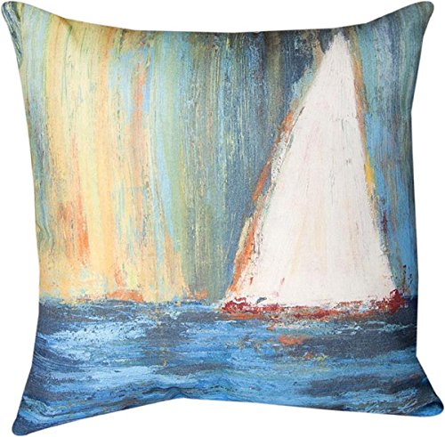 Decorative Pillows - Set Sail Pillow nautical throw pillow