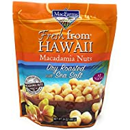 MacFarms Dry Roasted Macadamia Nuts With Sea Salt Fresh From Hawaii 24 Ounce