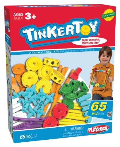 Tinkertoy 65 Piece Essentials Value Set, Baby & Kids Zone