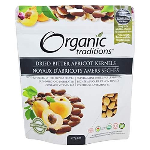 Organic Traditions Apricot Kernels 227g