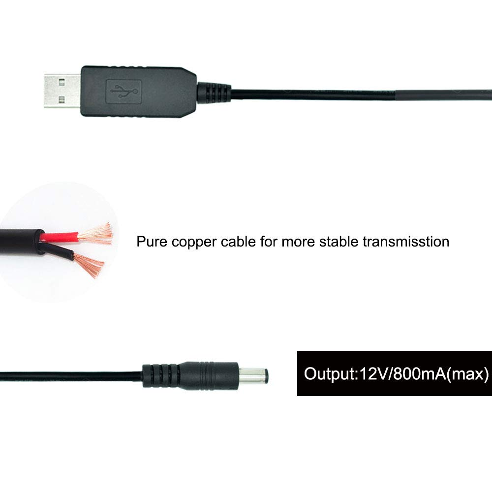 Ltd REARMASTER 12V USB Power Supply Kit for Car Rear View Camera and Monitor with RCA Connection Linghui Industrial Co
