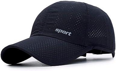 Mzdpp Gorra De Béisbol De Verano con Malla Snapback Hat Gorra De ...