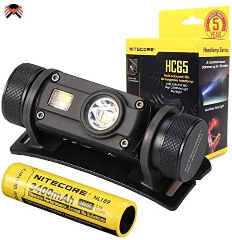 NITECORE HC65 Linterna Frontal Alta Potencia 1000 Lumenes ...