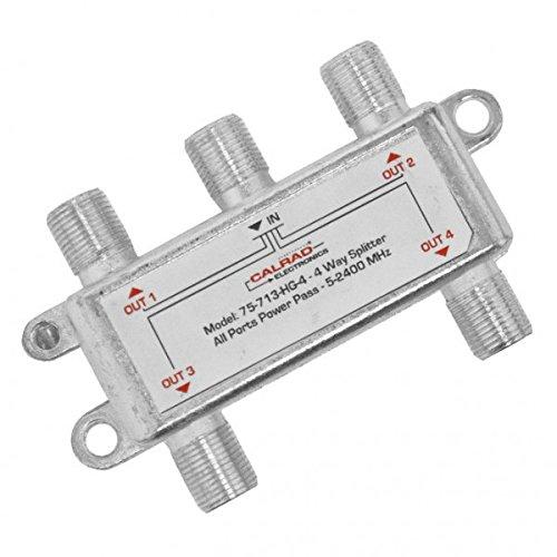 4 Way 2 GHz Digital Splitter