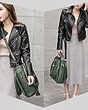 S-ZONE 3 Way Women Designer Leather Handbags