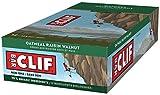 CLIF BAR - Energy Bar - Oatmeal Raisin Walnut - (68 Gram Protein Bar, 12 Count)