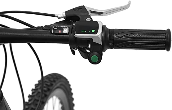 Details about  /Sturdy 1 Pair Electric Bike Grip Waterproof Handlebar Grips For Electric