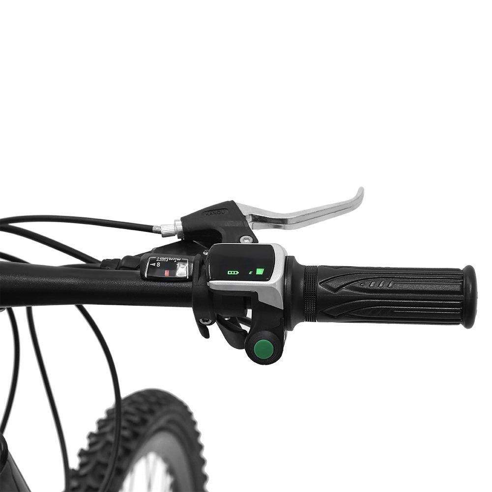 Dilwe Juego de empu/ñaduras para Acelerador de Acelerador y Cable doblado para Coches El/éctricos y Bicicletas
