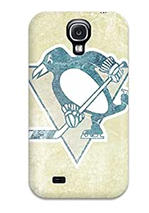 High Impact Dirt/shock Proof Case Cover For Galaxy S4 (pittsburgh Penguins (3) )
