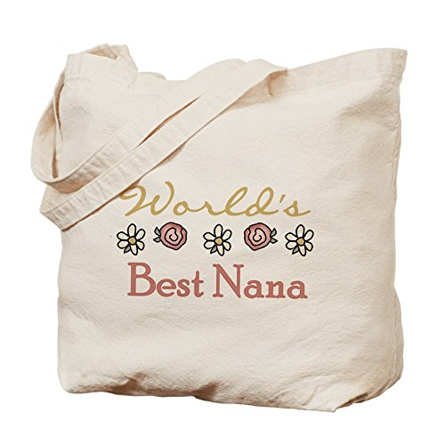 CafePress–del mondo migliore Nana–Borsa di tela naturale, panno borsa per la spesa
