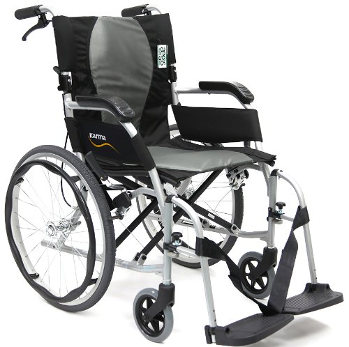 Karman 19.8 lbs Ergonomic Ultra Lightweight Wheelchair ()