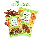 Smart Bites Chips de Jícama Enchilada,  Empaque de 5 bolsas de 30 g