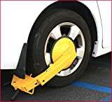 Security Car Wheel Tire Claw Lock Automotive Anti Theft Clamp Boot Parking Vehicle Truck RV Boat Trailer - House Deals