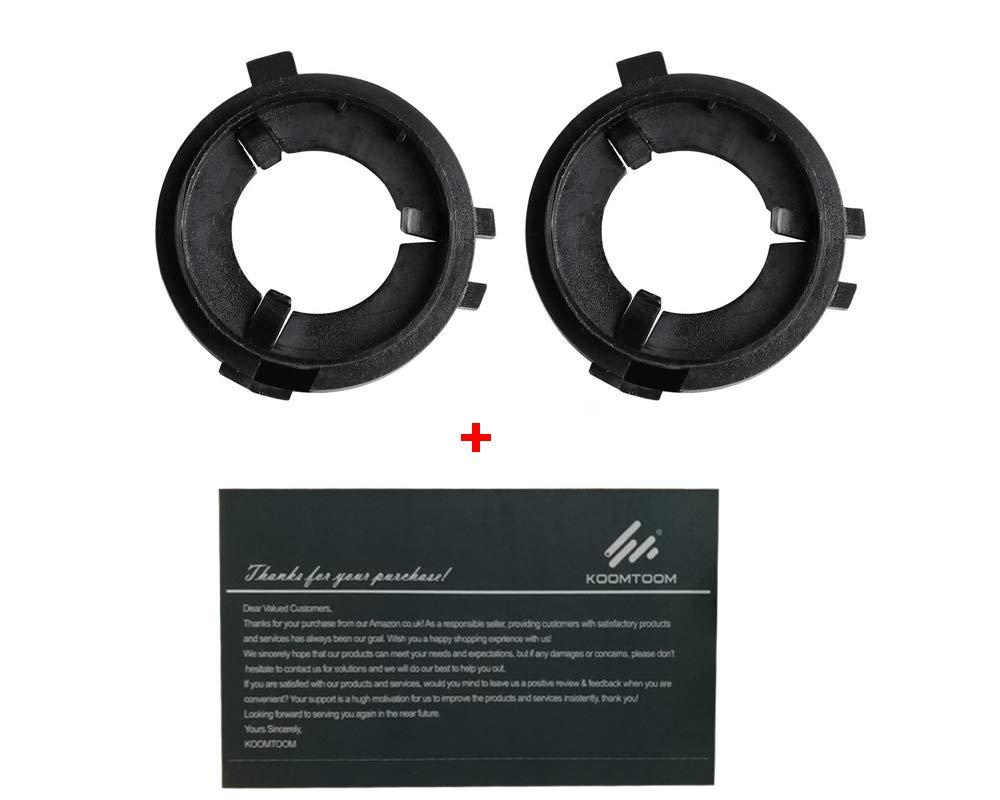 KOOMTOOM H7 LED Scheinwerfer Lampenfassung Sockelbasis Adapter Halter