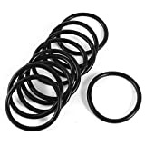 10 Pcs Automobile 43mm x 3.5mm O Rings Seal Sealing Gaskets Washers
