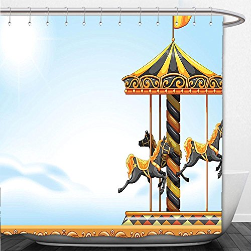 Outdoor Lighted Carousel - 7