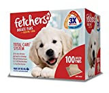 Fetchers Puppy Pads with Baking Soda, 100 Count, Large, 23 by 24 Inches