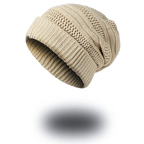 caps Men gorra de Señoras lana marino curling Cálida señoras sombreros Halloween tapas sombreros sombreros beanie Beige caliente sombreros tejido tejidos Navidad azul MASTER espesada de 4PvCqn