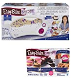 Amazon Exclusive Hasbro White Star Edition Easy Bake Oven with 13 Dessert Mixes with Pretzels, Cookies and Cakes