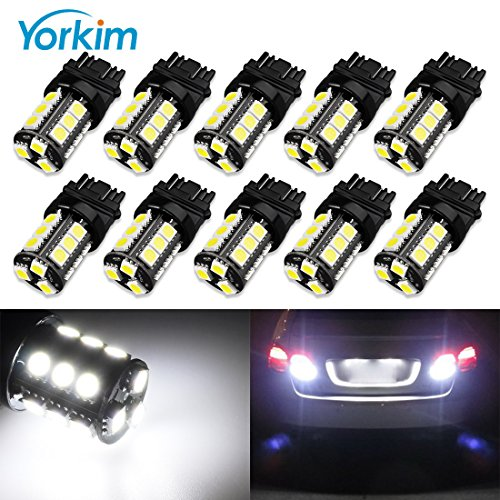 etc Side Door Lights iJDMTOY Xenon White 10-SMD-5730 High Power 168 194 2825 912 921 T10 LED Bulbs For Parking Lights Interior Dome Lights License Plate Lights