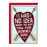 Kyпить Hallmark Shoebox Funny Valentine's Day Greeting Card for Romantic Partner (Heart and Arrows) на Amazon.com