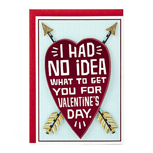 Hallmark Shoebox Funny Valentine's Day Card for Significant Other (Heart and Arrows)]()