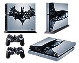 Dark Batman Decal Skin Sticker for Playstation 4 PS4 ( Console Skin X 1 + Controller Skin X 2 )
